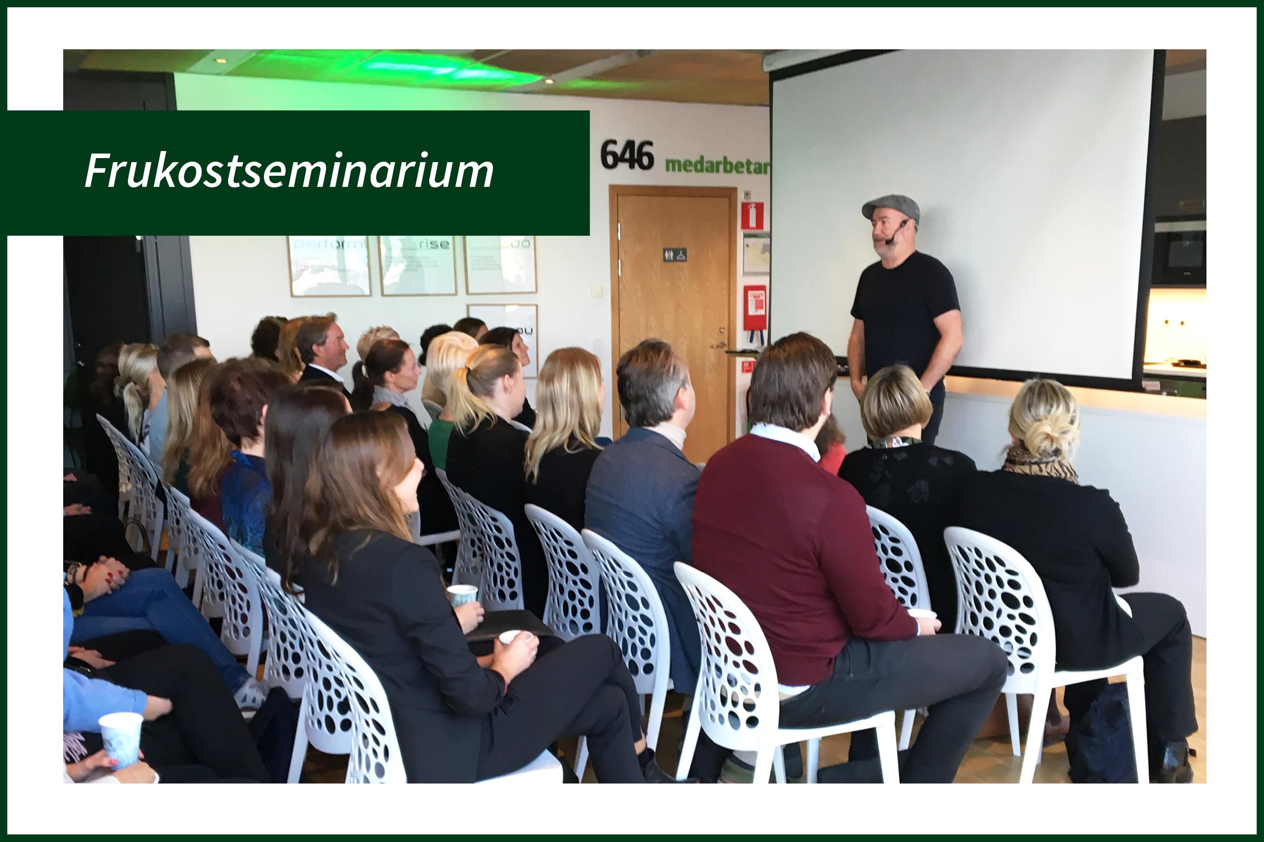 Frukostseminarium med Pär Johansson – En emotionell berg- och dalbana